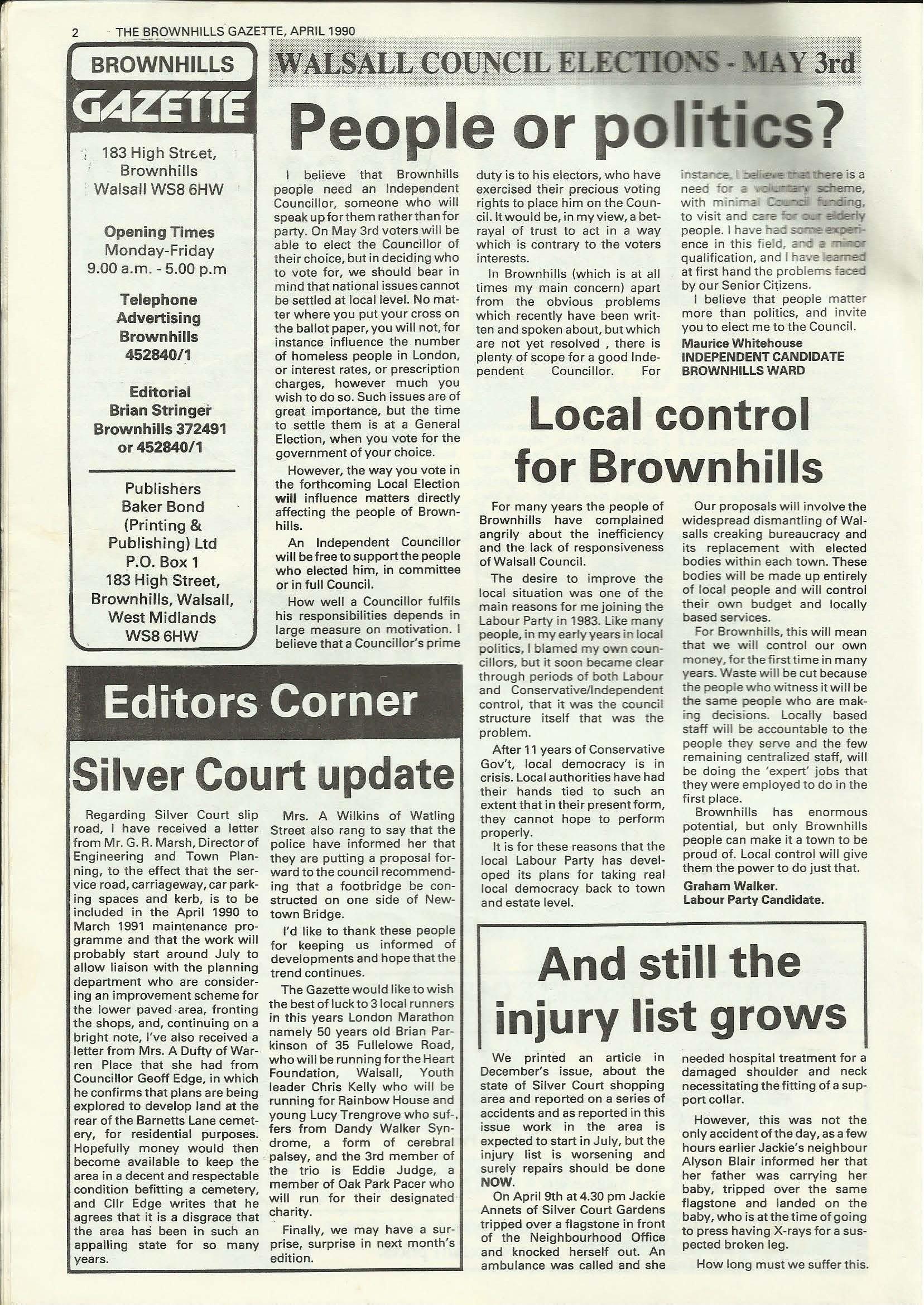 Brownhills Gazette April 1990 issue 7_000002