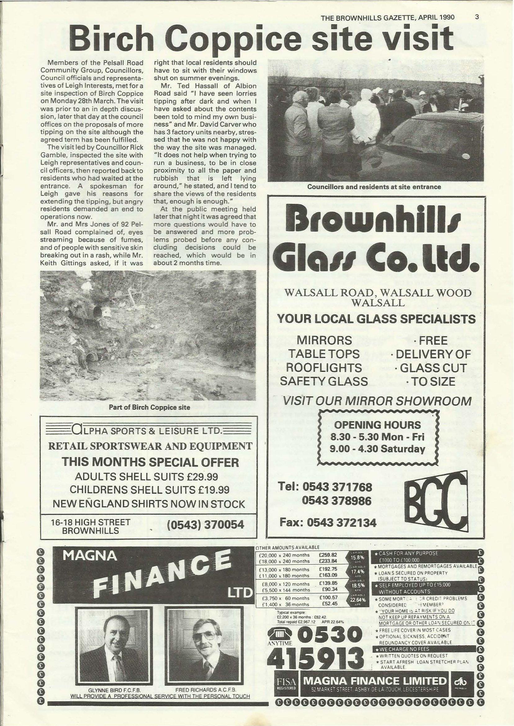 Brownhills Gazette April 1990 issue 7_000003