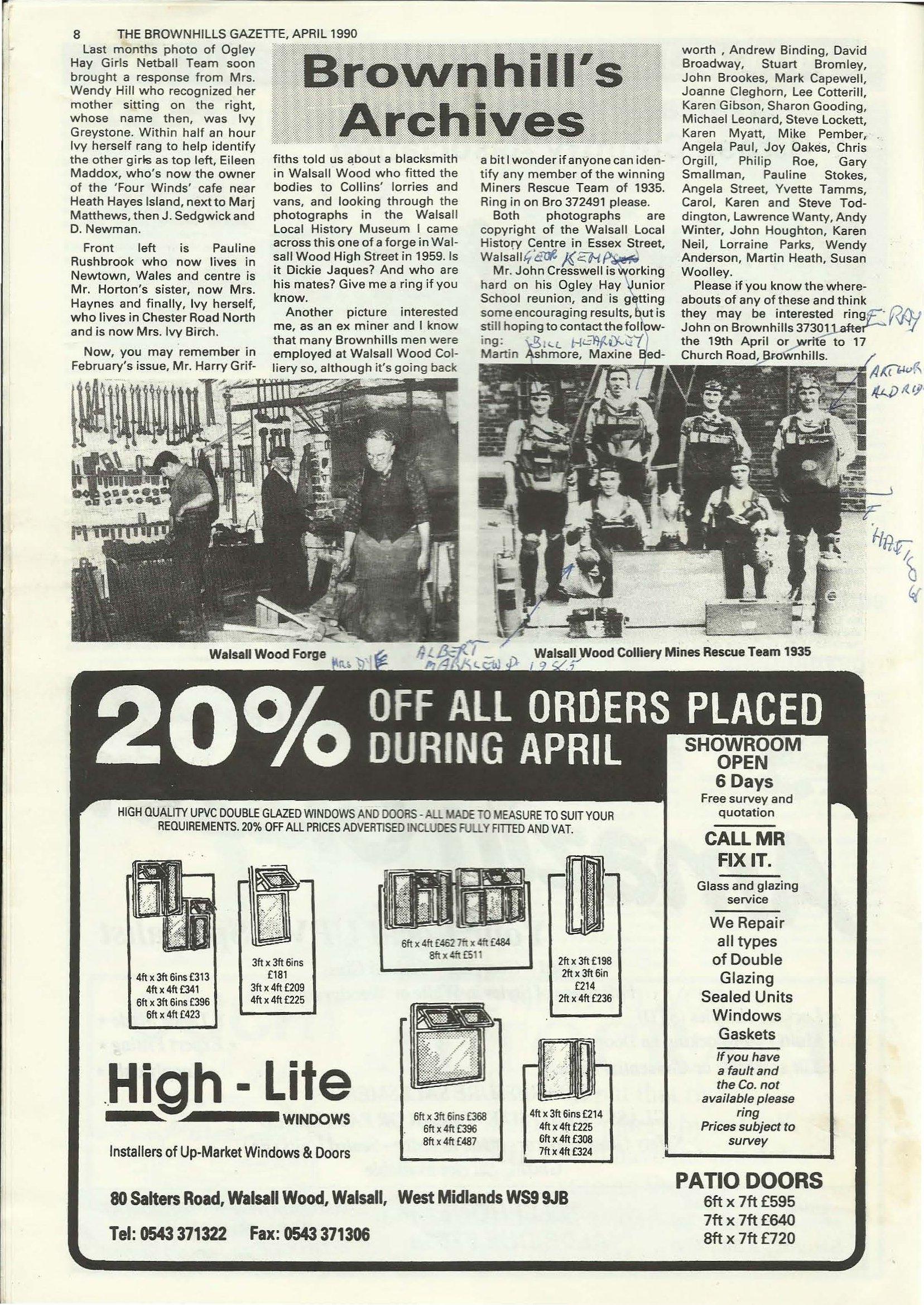 Brownhills Gazette April 1990 issue 7_000008