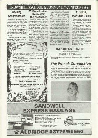 Brownhills Gazette August 1990 issue 11_000010