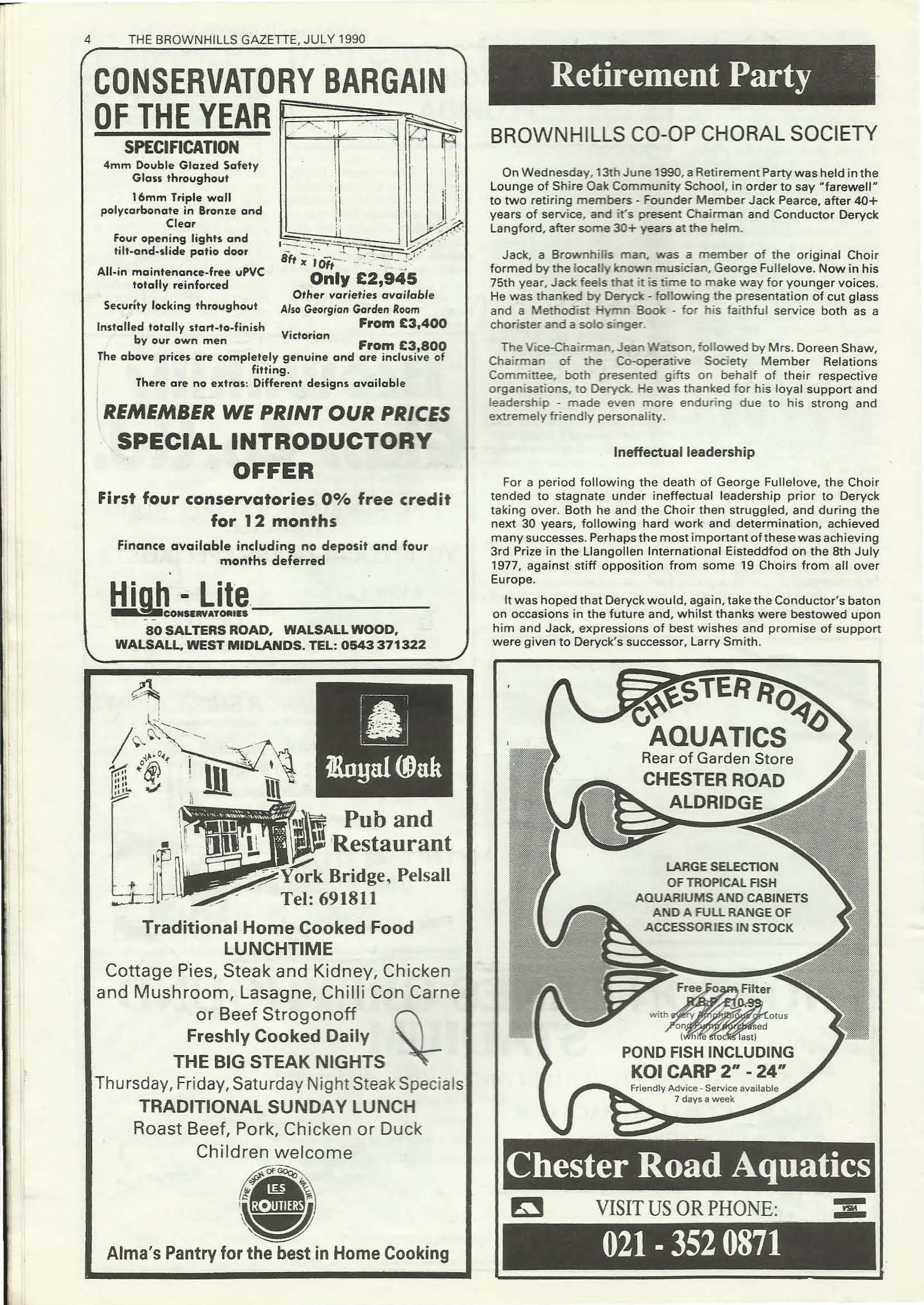 Brownhills Gazette July 1990 issue 10_000004