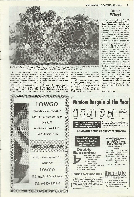 Brownhills Gazette July 1990 issue 10_000007