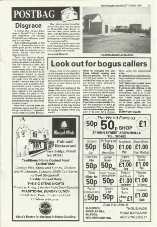 Brownhills Gazette May 1990 issue 8_000013