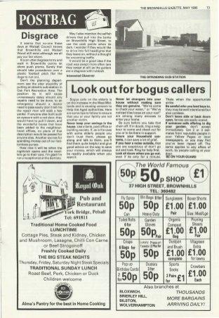 Brownhills Gazette May 1990 issue 8_000013