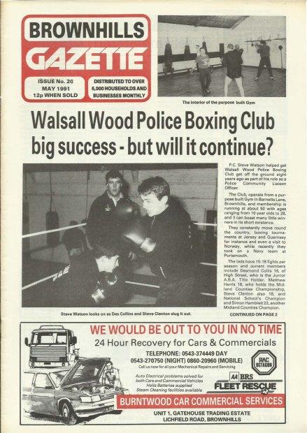 Brownhills Gazette May 1991 issue 20_000001
