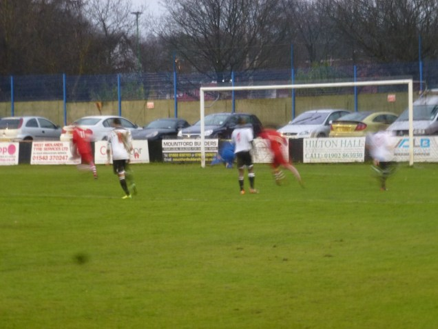 And gained their first goal from a penalty. Image kindly supplied by David Evans.