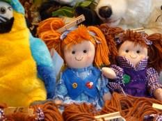 Loved this ginger rag doll.
