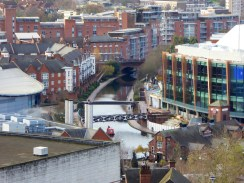 Great view of the canal by the NIA.