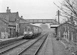 Posted by Si Swain on Facebook who says 'On 2nd December 1963 a Gloucester RCW Unit departs Pelsall station with a service for Lichfield. Pelsall was situated on the South Staffordshire line from Walsall to Wychnor Junction. This line lost its passenger service in 1965. I now live less than a mile from the trackbed of this route and will be the subject of my first exploration of 2015 on Saturday. Before that I need to do my homework smile emoticon Copyright Geoff Dowling/John Whitehouse.'