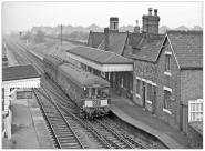 Posted by Si Swain on Facebook who says 'On a gloomy 2nd December 1963 a green liveried BRCW class 104 dmu makes it's call at Brownhills Station, the train is a working from Burton upon Trent to Wolverhampton. The station closed to passengers on 18th January 1965. Copyright Peter Shoesmith'
