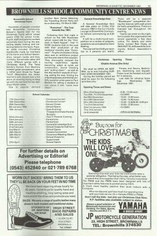 Brownhills Gazette December 1991 issue 27_000019