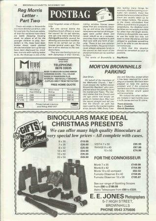 Brownhills Gazette November 1991 issue 26_000014