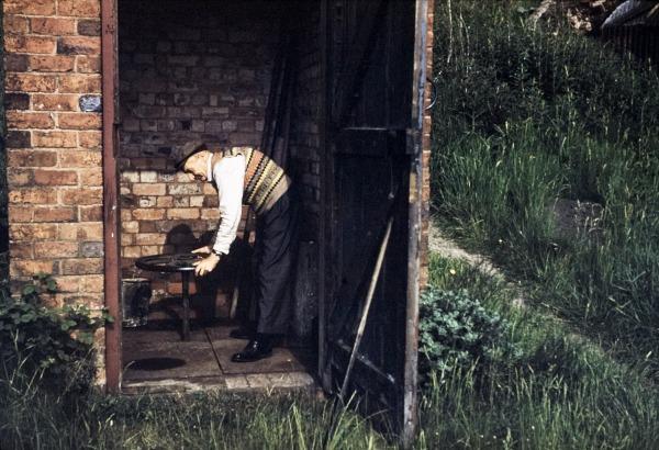 control hut 1960