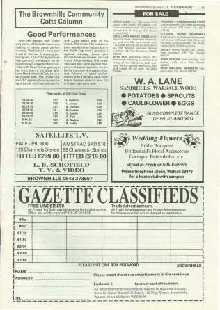 Brownhills Gazette November 1992 issue 38_000015
