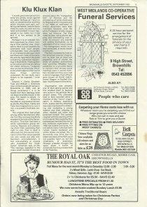 Brownhills Gazette September 1992 issue 36_000005