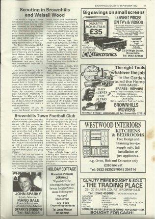 Brownhills Gazette September 1992 issue 36_000011