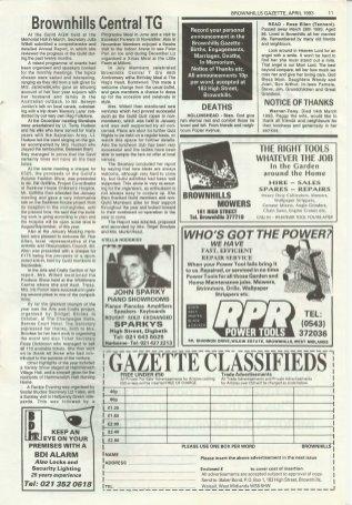 Brownhills Gazette April 1993 issue 43_000011