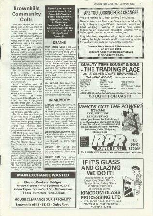 Brownhills Gazette February 1993 issue 41_000011