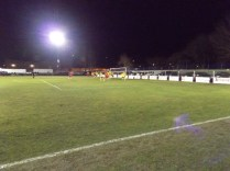 A corner kick to Walsall Wood brought excellent goalkeeping by Basford's keeper
