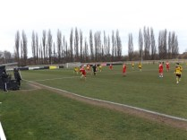 Second half ,where Walsall Wood turned up the pressure to challenge Basford