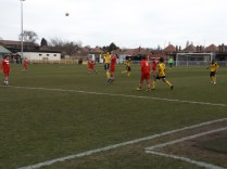 Both teams played with determination, perhaps Walsall Wood showed greater resolve and challenge