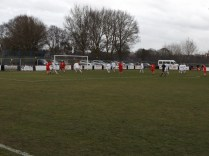 Second half action as Walsall Wood put pressure on a depleted Westfields side