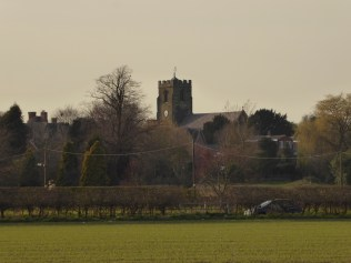 Drayton Bassett church from the canal