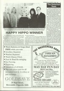 Brownhills Gazette April 1994 issue 55_000019