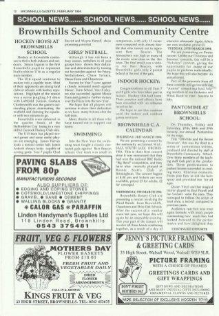 Brownhills Gazette February 1994 issue 53_000012
