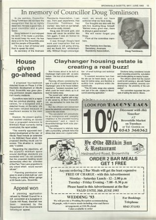 Brownhills Gazette May 1993 issue 44_000013