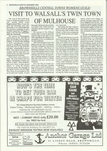 Brownhills Gazette November 1993 issue 50_000006