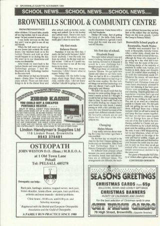 Brownhills Gazette November 1993 issue 50_000012