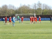 First goal to the visitors, Walsall Wood