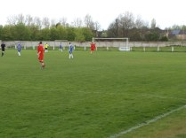 Second half goal to the home side