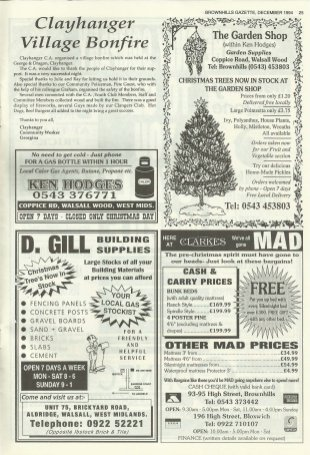 Brownhills Gazette December 1994 issue 63_000025