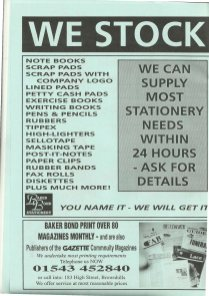 Brownhills Gazette January 1995 issue 64_000019