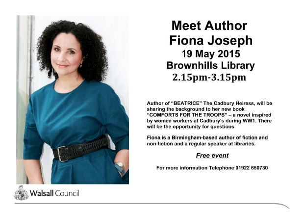Fiona Joseph at BR Library