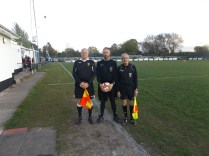 Under 18s match officials