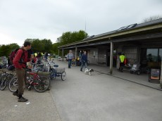 Parsley Hay: aleays a good spot for cycling chat