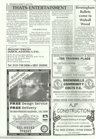 Brownhills Gazette June 1995 issue 69_000026