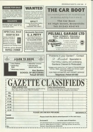 Brownhills Gazette June 1995 issue 69_000027