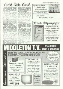 Brownhills Gazette March 1995 issue 66_000005