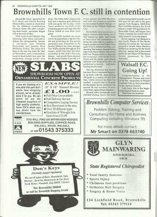 Brownhills Gazette May 1995 issue 68_000026
