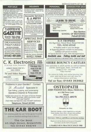 Brownhills Gazette May 1995 issue 68_000027