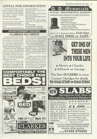 Brownhills Gazette July 1995 issue 70_000013