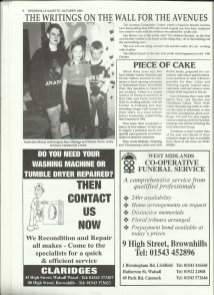 Brownhills Gazette October 1995 issue 73_000006