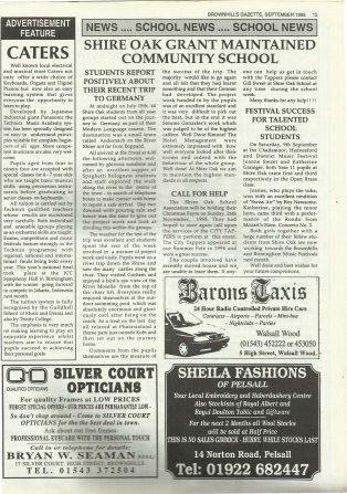 Brownhills Gazette September 1995 issue 72_000013