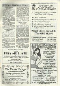 Brownhills Gazette September 1995 issue 72_000019