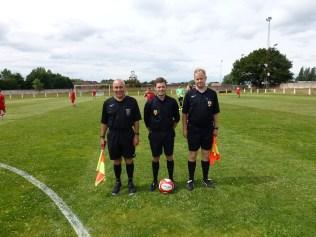 Match Officials, Messrs Durnall, Murphy and Hale