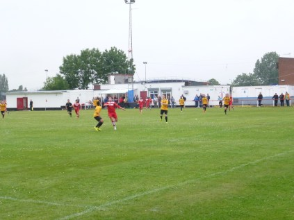 One of Walsall Wood's first half attacking moves